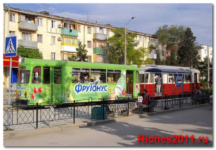 Евпатория, трамвай