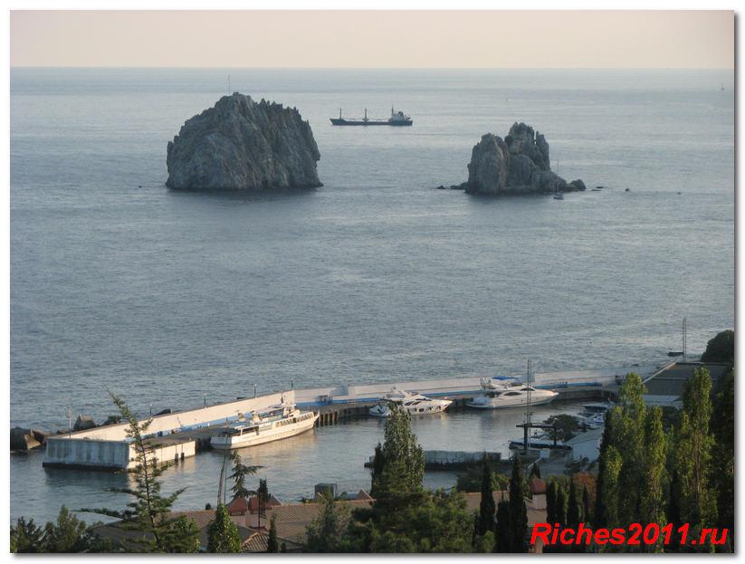 морской порт артека