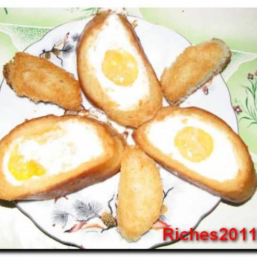 С добрым утром! Яйца на завтрак или «Лучики солнышка».