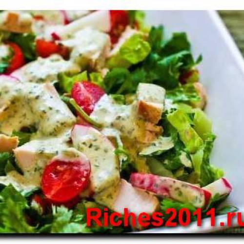 Салат Легкий или как приготовить быстро и вкусно салат.