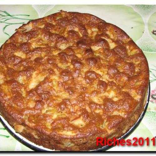 Готовим вкусный яблочный пирог быстро и просто.