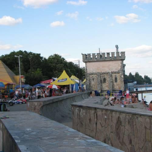 Западный берег Крыма — начало нового путешествия.