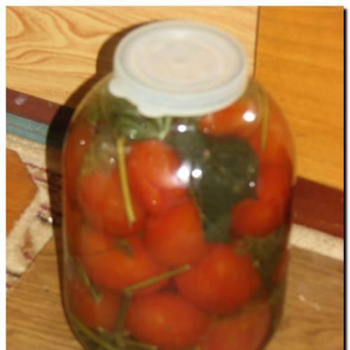 Рецепт соленых помидоров – просто и вкусно.