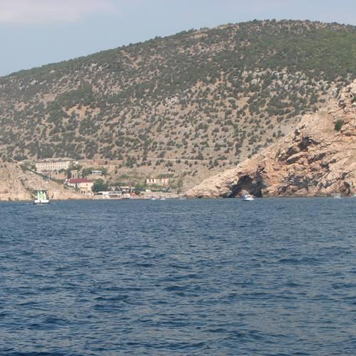 Невидимая бухта Балаклава.