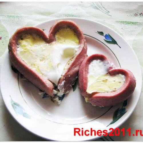 Сюрприз на день святого Валентина – завтрак любимым