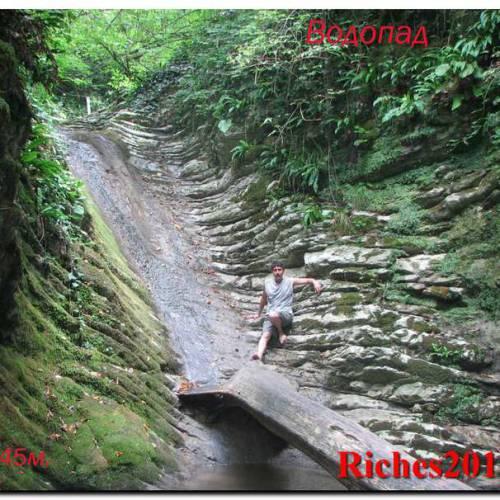 Крабовое ущелье — один из природных заповедников Лазаревского.