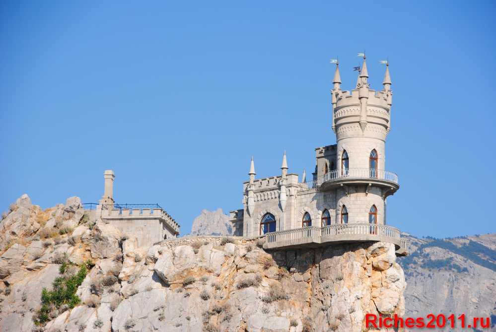 Замок Ласточкино гнездо — визитная карточка ЮБК