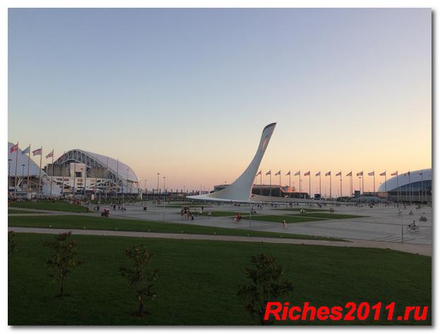 Летний отдых в Олимпийской деревне