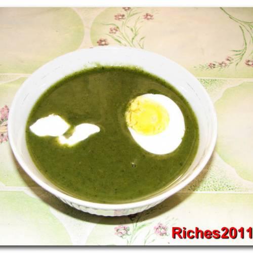 Суп из зелени или суп-пюре «Весенне-летнее разнотравье»