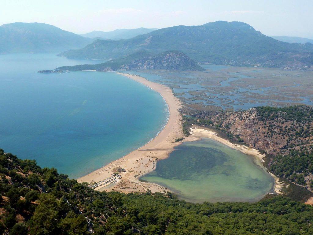 Отдых в Турции на Эгейском море. Дальян. Пляж Изтузу. Часть 5.