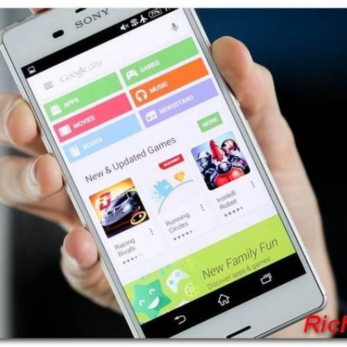 Новое приложение сайта Google Play для Android.