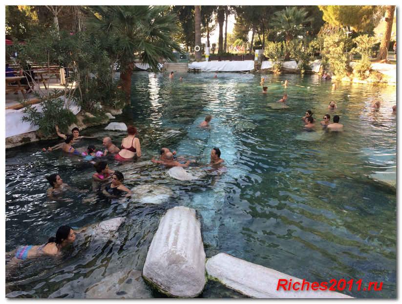турция памуккале фото бассейн клеопатры